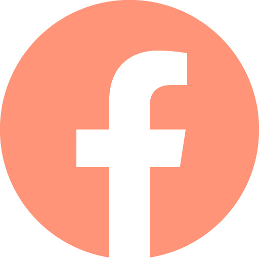 facebook logo orange